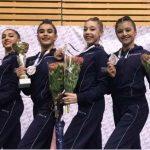 Азербайджанские гимнастки привезли из Польши 5 медалей