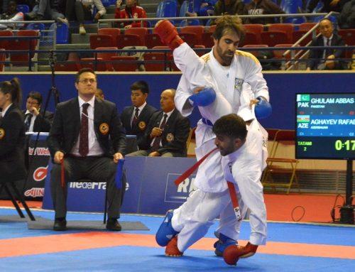 Рафаэль Агаев стал третьим в Марокко