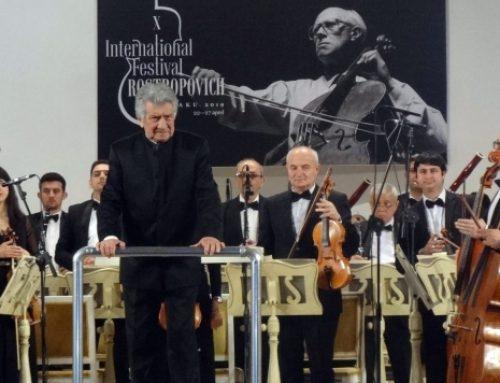 Классика от мировых звезд: в Баку проходит юбилейный фестиваль Мстислава Ростроповича