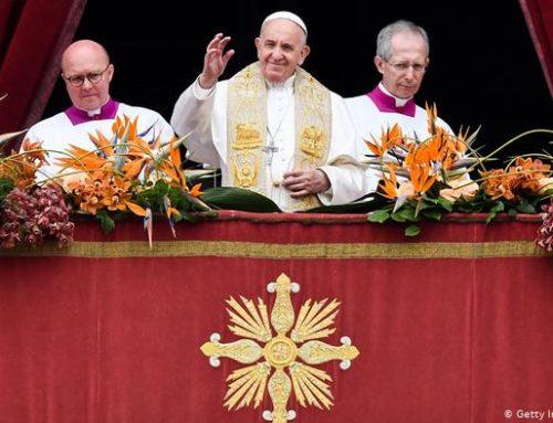 Папа римский Франциск призвал усилить борьбу за мир