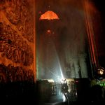 Были опубликованы первые фотографии из собора Парижской Богоматери