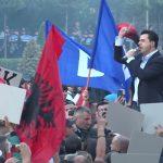 В Албании прошла очередная антиправительственная акция протеста