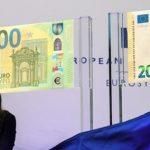 В странах еврозоны вводятся в обращение новые купюры в 100 и 200 евро