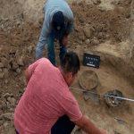 Во время археологических раскопок в Газахе обнаружены останки древних людей