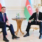 В Баку с официальным визитом находится президент Польши