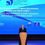 Ильхам Алиев выступил на открытии Всемирного форума
