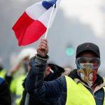 В Париже «желтые жилеты» вышли на последнюю в 2019 году акцию протеста