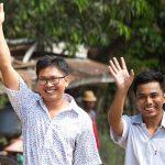 Два журналиста Reuters освобождены в Мьянме
