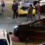 В Подмосковье таксист открыл огонь из пулемета во дворе жилого дома
