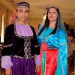 Азербайджанская национальная одежда была продемонстрирована в Тбилиси