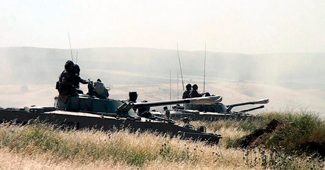 Завершились широкомасштабные учения азербайджанской армии