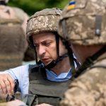 Владимир Зеленский посетил позиции ВСУ в Донбассе