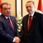 Эмомали Рохмон встретился с лидерами Турции и Катара