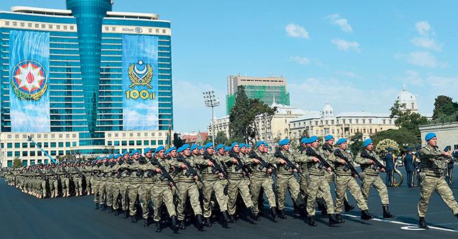 В списке самых милитаризованных стран мира Азербайджан занимает 10-е место