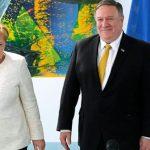 """Майкл Помпео обсудил с Ангелой Меркель оказание поддержки Украине, ситуацию в Иране и Афганистане, и """"противодействие российской агрессии"""""""