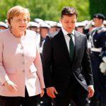 Меркель и Зеленский не видят препятствий для «нормандской» встречи