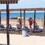 Расстояние между зонтиками на пляжах будет как минимум 4 метра