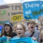 На западе ФРГ проходит многодневная акция молодежи в защиту климата