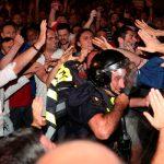 Глава МВД Грузии назвал действия полиции при разгоне митингов легитимными