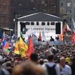 Митинг оппозиции в Москве: есть задержанные