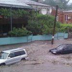 В Грузии сильная сель затопила населённое азербайджанцами село