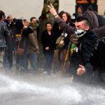 Во французском Биаррице прошла акция протеста против саммита G7