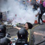 В Гонконге произошли беспорядки из-за очередной акции протеста