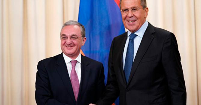 Главы МИД России и Армении провели встречу в Женеве
