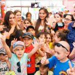 Фонд Гейдара Алиева организовал на берегу Каспия веселье для детей