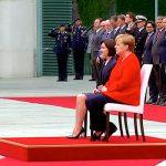 В канцелярии Меркель утверждают, что у нее хорошее здоровье