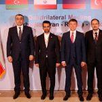 Азербайджан, Турция, Иран и Россия подписали четырехстороннее соглашение о сотрудничестве