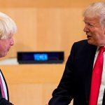 Дональд Трамп поздравил Бориса Джонсона