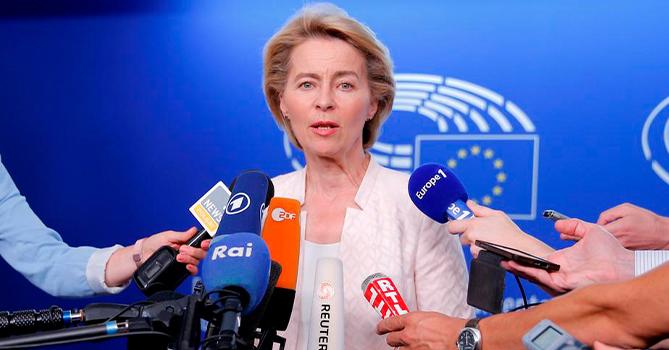 Фон дер Ляйен: Европе нужен план Маршалла