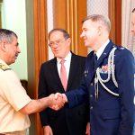 Новый военный атташе США сегодня был представлен Министру обороны Азербайджана