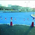 Власти Катара выбирают цвета для покраски асфальта