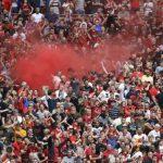 Фанаты «Ливерпуля» и «Манчестер Сити» устроили массовую драку
