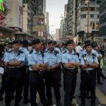 Полиция Гонконга задержала более 40 участников массовых беспорядков
