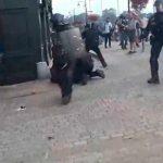 В ожесточенные беспорядки переросли столкновения во французской Байонне