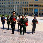 С рабочим визитом в Азербайджане находится делегация минообороны России