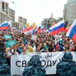 Сегодня в Москве прошел митинг под лозунгом «Вернем себе право на выборы»
