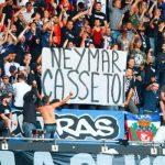Сестра Неймара резко отреагировала на баннеры фанатов «ПСЖ»