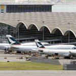 Администрации аэропорта Гонконга позволили выдворить демонстрантов