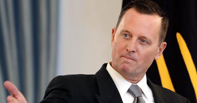 В посольстве США в Германии не подтвердили отставку Гренелла