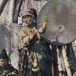 Байкальские шаманы принесли в жертву богам барана, чтобы остановить пожары ВИДЕО