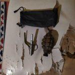 В Хызы нашли ручную гранату и взрывчатку в квартире