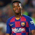 """Барселона"" начала вести переговоры с Ансу Фати по новому контракту"