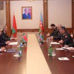 Министр обороны Азербайджана встретился с госсекретарем Совета безопасности Беларуси