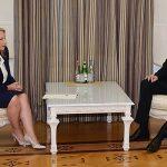 Ильхам Алиев принял министра экономики и устойчивого развития Грузии