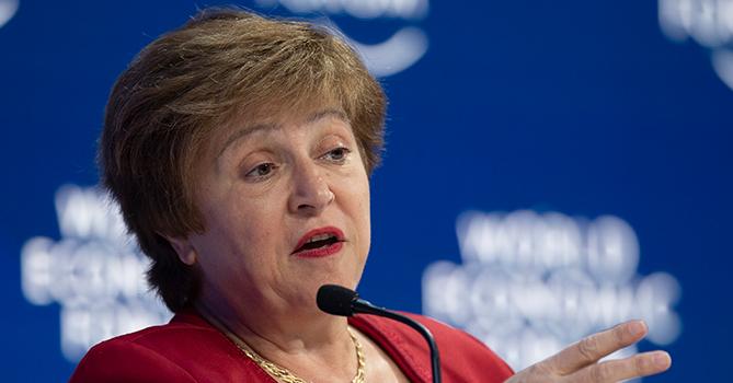 Глава МВФ заявила, что неравенство угрожает миру финансовым кризисом
