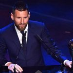 Месси номинирован на приз лучшему игроку года Globe Soccer Awards